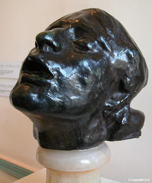 Tête de la douleur Rodin
